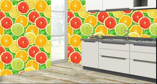 Fruits and Leaves Customized Wall Tiles