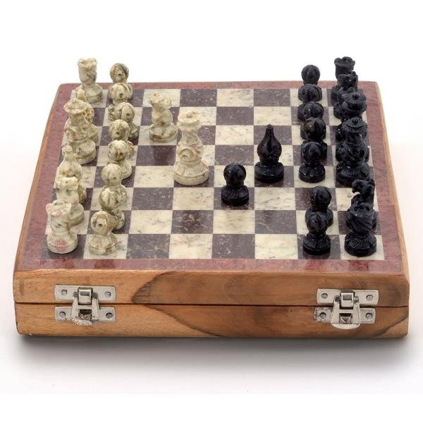 Real Makrana Marble Chess Board Handicraft 106