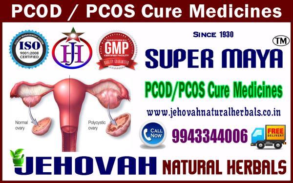 Pcod / Pcos Medicines Super Maya 9943344006