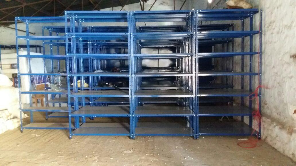 450 mm x 1200mm x 2500mm x 7 shelves with 6 compertment