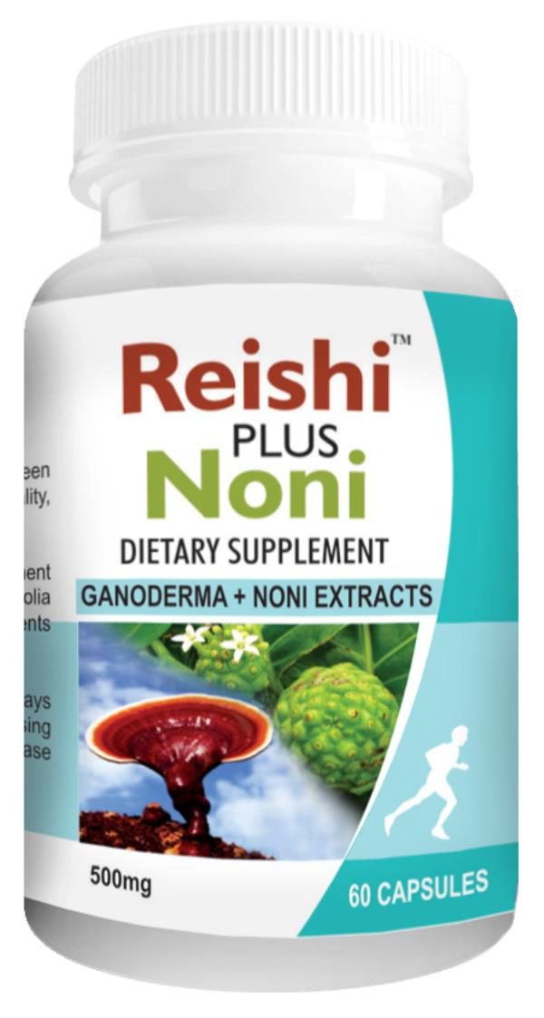 Reishi Noni Capsules a powerful immune booster