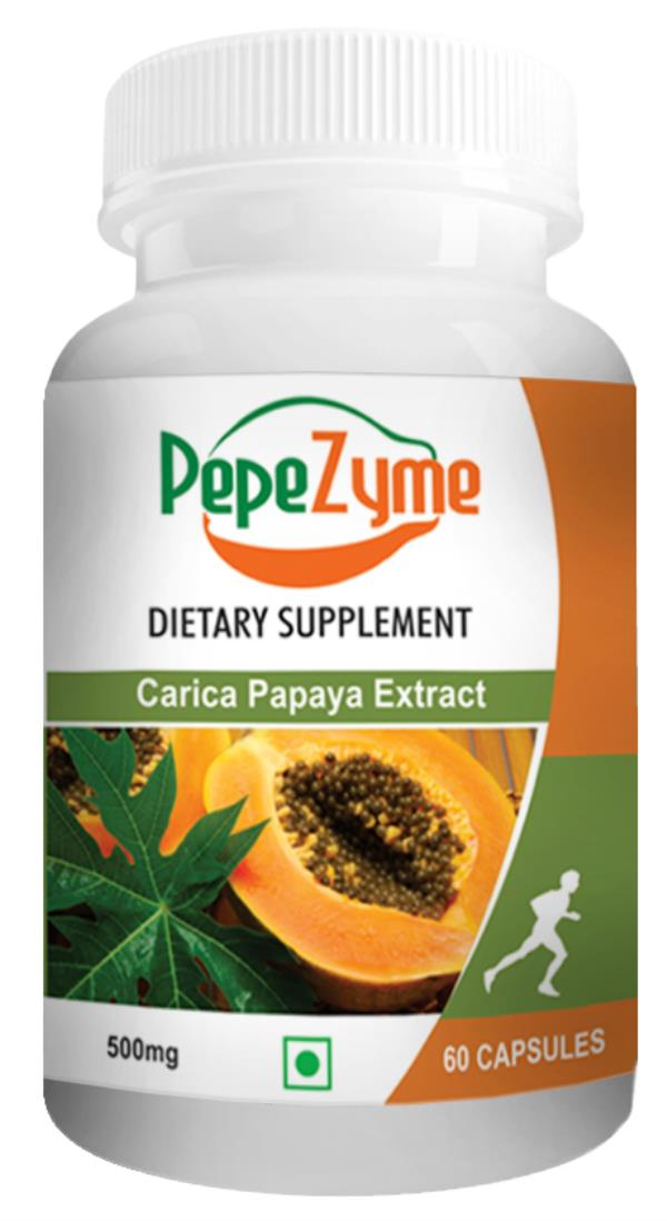 Pepezyme. Carica Papaya Leaf Fruit Extract