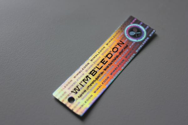 Holographic Garment Tags