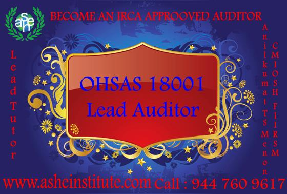 OHSAS 18001:2007 LEAD AUDITOR