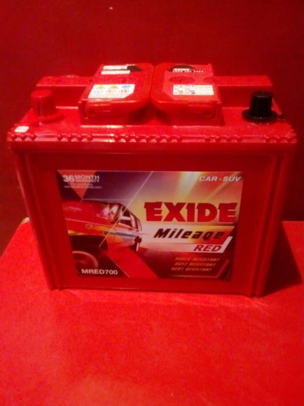Exide Mileage Red MRED700