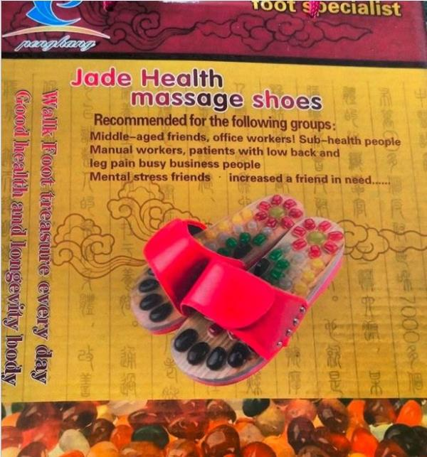 Acupressure Natural Stone Foot Sandals
