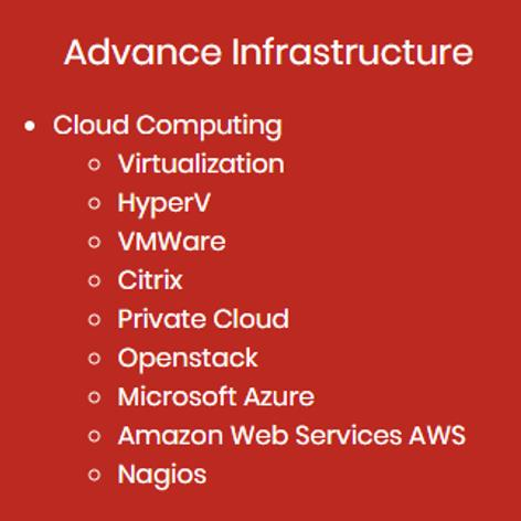 Advance Cloud Infrastructure