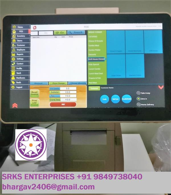 Android Touch Pos Retail