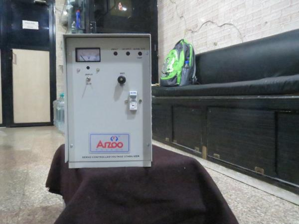 1KVA S/P SERVO CONTROLLED VOLTAGE STABILIZER