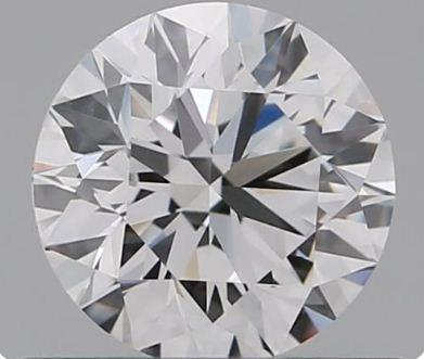 GIA CERTIFIED REAL NATURAL ROUND CUT NOT TREATED IF CLARITY 0.50 CARAT SIZE D COLOR DIAMOND