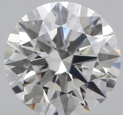 0.46 CARAT SIZE GIA CERTIFIED REAL NATURAL ROUND CUT NOT ENHANCED IF CLARITY F COLOR DIAMOND