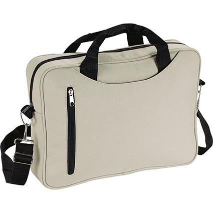 "Impress your audience with this professional bag made to fulfill your conference. This bag can be carried in one arm or as cross body bags.   Conference 13.5"" W x 10.5"" H x 2"" Side Gusset"