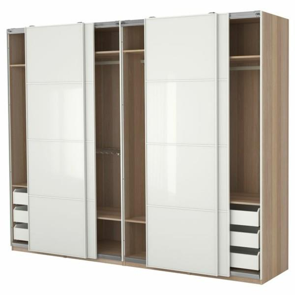 Wardrobe and pole system