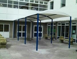 Walkways Entrance Tensile