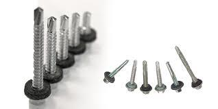 self drilling screws with edpm washers