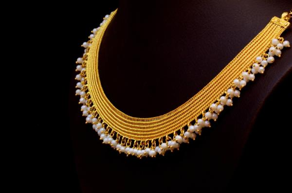 Designer Necklace Gold Set