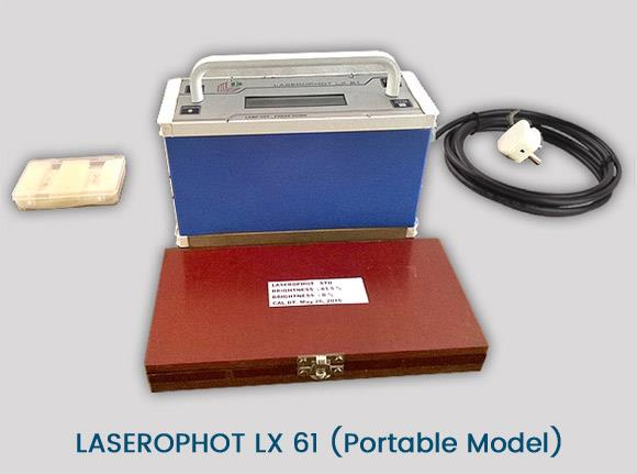 Laserophot LX 61 (Portable Model)