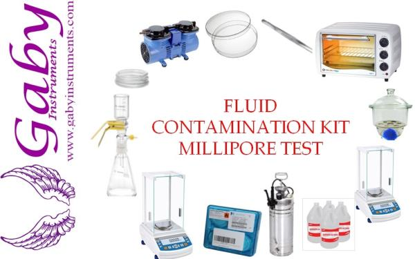 FLUID CONTAMINATION ANALYSIS KIT  - MILLIPORE TEST KIT