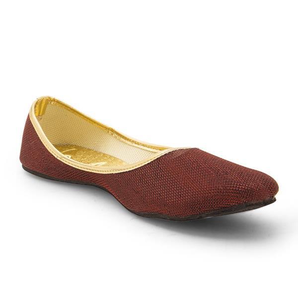 Women Traditional Stylish Maroon Ballerina Sandals 308