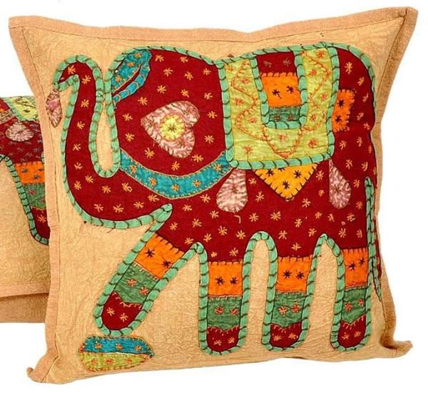 Patchwork Quilted Cushion Cover 503