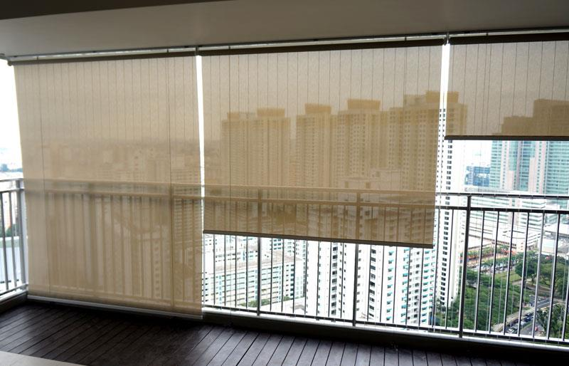 PVC ROLL - UP BLINDS