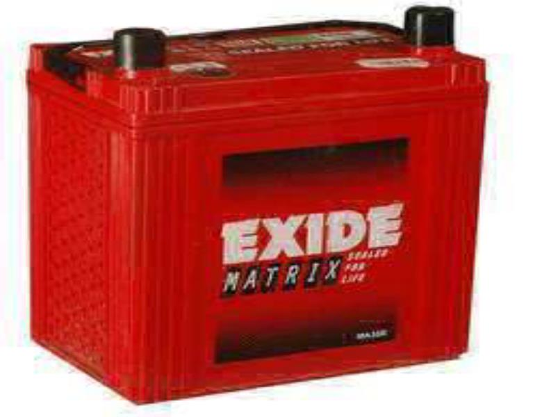 Exide Matrix - Four Wheeler Batteries- MT75D23L