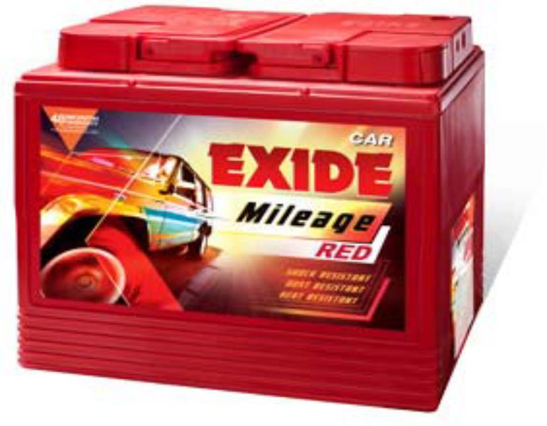 Exide Mileage - Four Wheeler Batteries- MRED40RBH