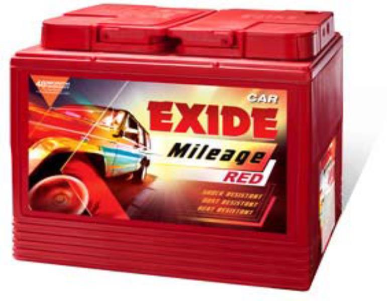 Exide Mileage - Four Wheeler Batteries- MRED45D21LBH
