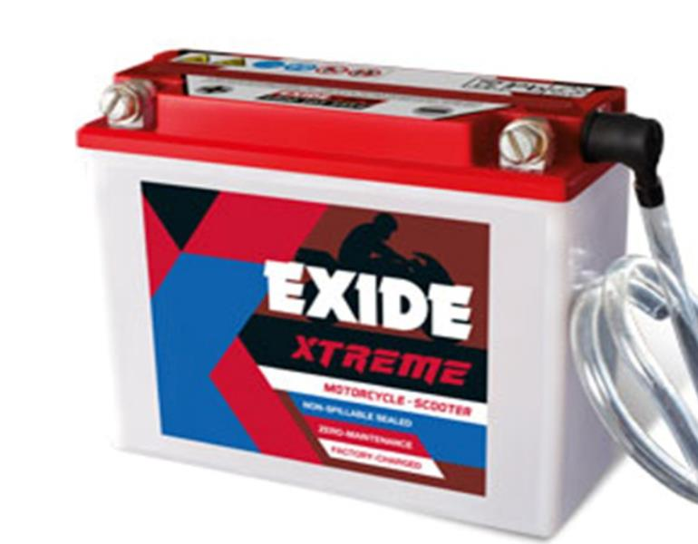 Exide Xtreme – Two Wheeler Batteries