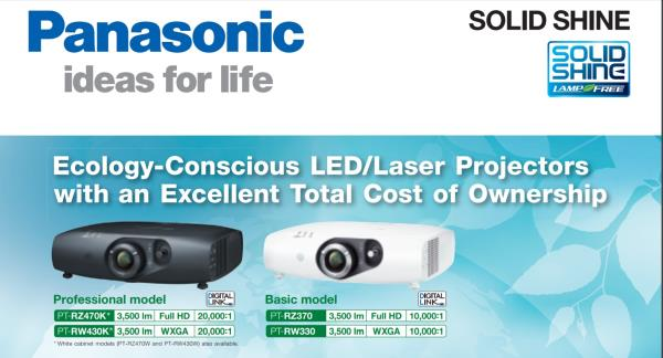 Panasonic Laser-LED Projector