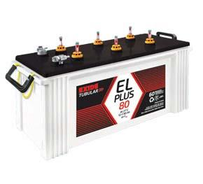 Batteries for Institutional UPS System - Flooded 6EL plus