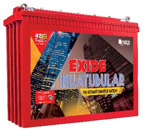 EXIDE INVATUBULAR - Tubular Inverter Batteries
