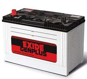 EXIDE GENPLUS-GP110D31R