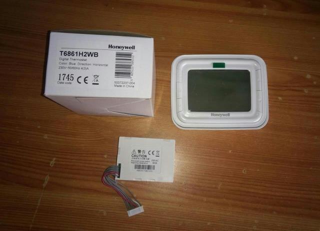 Honeywell Make Digital Thermostat T6861H2WB