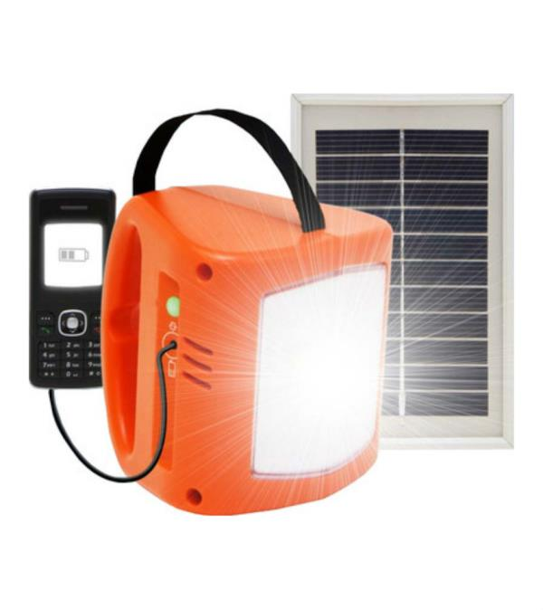 solar light with mobile charger