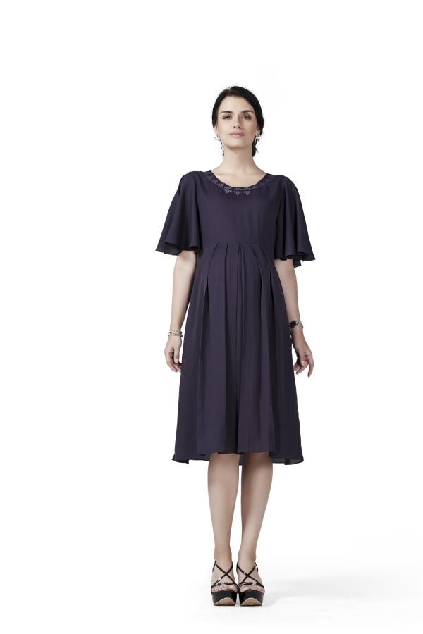 House of Napius Radiation Safe Maternity A Line Dress