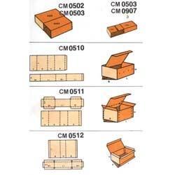 Slide Type Boxes CM0502 to CM0512