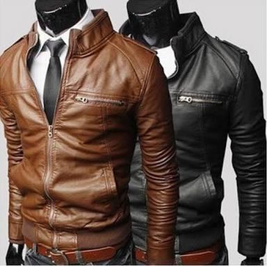 Black & Brown Leather Jackets