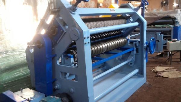 High Speed Oblique Type Single Face Paper Corrugating Machine (Bearing Mounted)