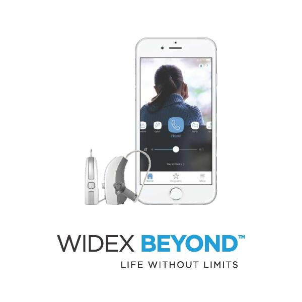 Widex hearing aids already give you the best sound. Now they also give you the best ways of staying connected to the world around you.  The new WIDEX BEYOND is the world's best sounding made-for-iPhone hearing aid. And with multiple ways of connecting though Bluetooth, DEX communication devices and Telecoils, your world never sounded so good.  Little wonder that hearing users have already rated BEYOND significantly better than similar solutions.  BEYOND is the only made-for-iPhone hearing aid with an app that uses the familiar swipe function. It provides you with quick and easy navigation through intuitive commands and screens. And gives you a simple way to customize your hearing solution and enjoy brilliant sound.