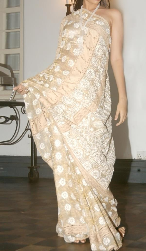 The Chikan Saree