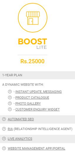 Boost Lite - Seo Agency in Ahmedabad