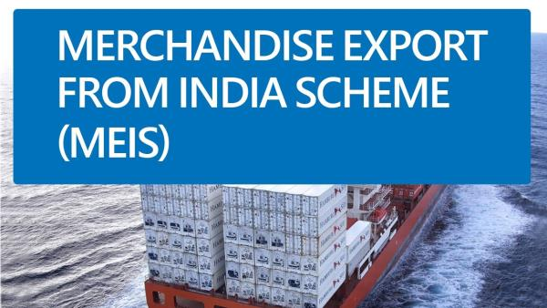 Export From India Scheme (MEIS & SEIS)