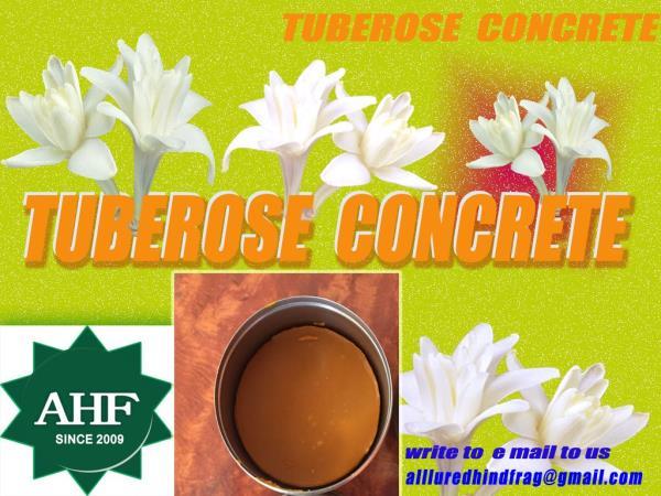 Tuberose floral concrete manufacturer in India