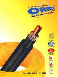 orbit unarmoured cables