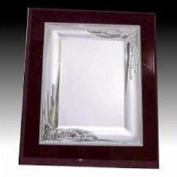 Silver Plated Plaque