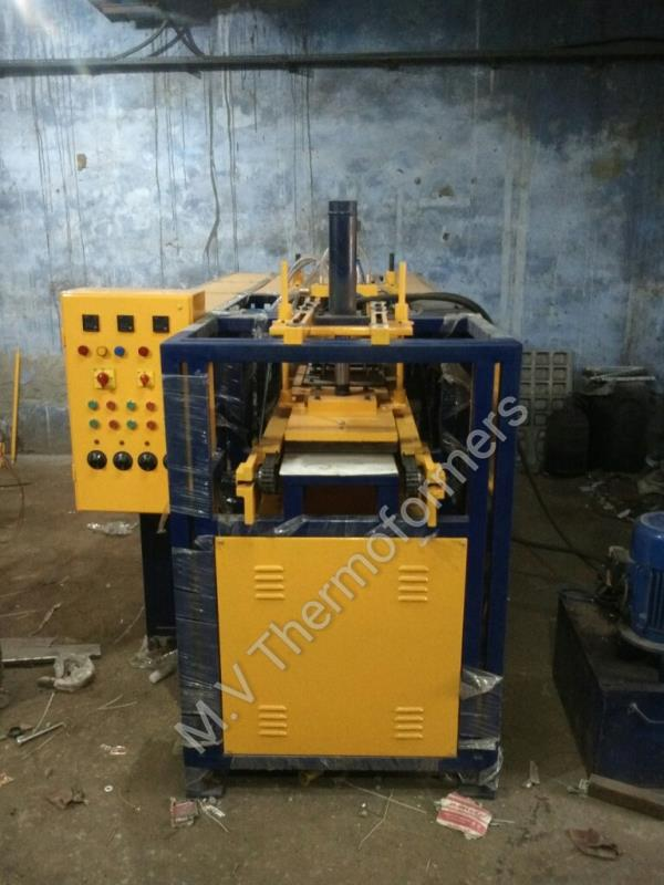 Online blister forming machine