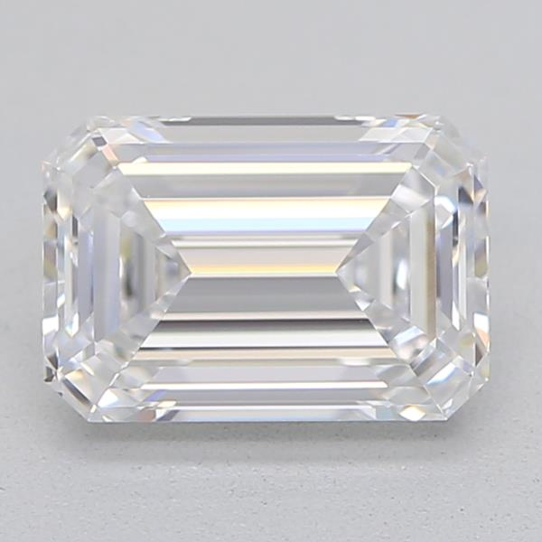GIA Certified 1.01 Carat Size D Color FL Clarity Real Natural Emerald Cut Beautiful Diamond