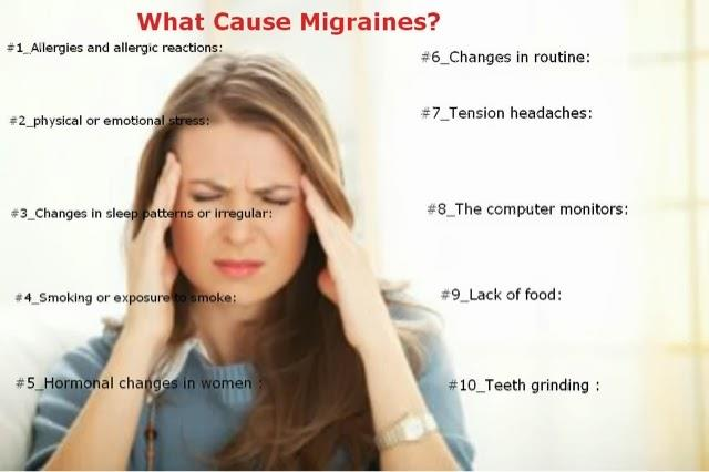 Headaches like Migraine