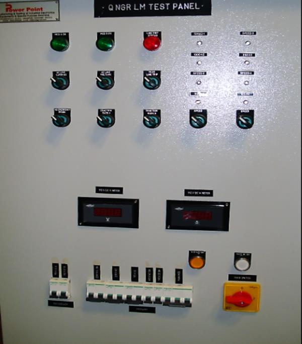 QNGR LM AC TEST PANEL